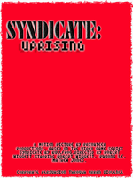 Syndicate Uprising poster full red